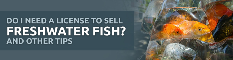 do you need a license to sell freshwater fish